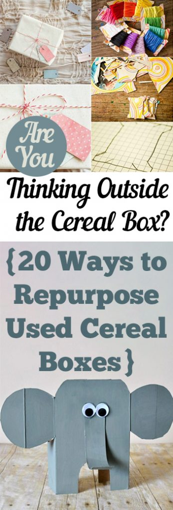 Cereal Boxes, Cereal Box Craft Projects, How to Reuse Cereal Boxes, Ways to Reuse Cereal Boxes, Craft Projects, Home Craft Projects, Crafts for Kids, Craft Projects for Kids, Easy Crafts for Kids, Popular Craft Ideas