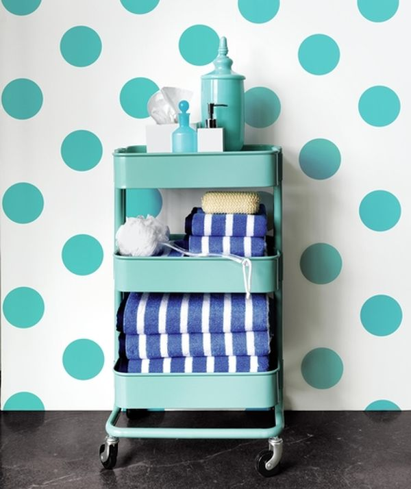 Just Roll With It 10 Ways to Decorate Using Rolling Kitchen Carts- DIY Rolling Kitchen Cart, Rolling Carts from IKEA, How to Decorate With Rolling Carts from IKEA, Home Decor Tips and Tricks, DIY Home Decor, IKEA Decoration Hacks, How to Design With IKEA Rolling Carts.