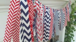 """Get Decked Out for the Fourth! 10 DIY Deck-Orations"""" 4th of July Porch Decor, Porch Decor, Porch Decor Ideas, DIY Porch Decor, Holiday Porch Decor Ideas, Holiday Home Decor, DIY Holiday"""