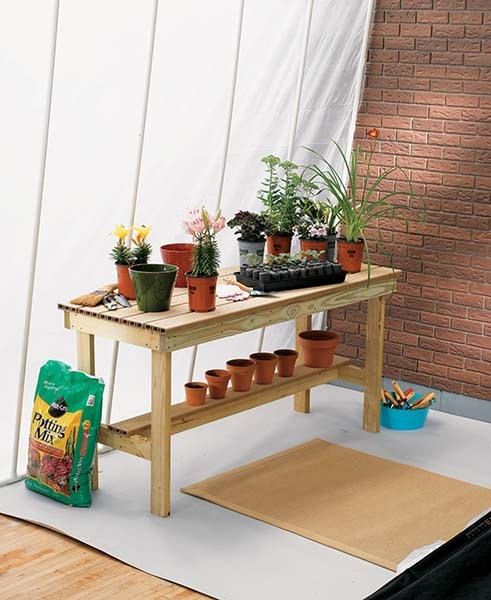 10 Free Potting Bench Projects - Potting Bench, Potting Bench Projects, DIY Potting Bench, DIY Potting Bench Projects, Outdoor DIY, DIY Outdoor, Outdoor Living, DIY Home