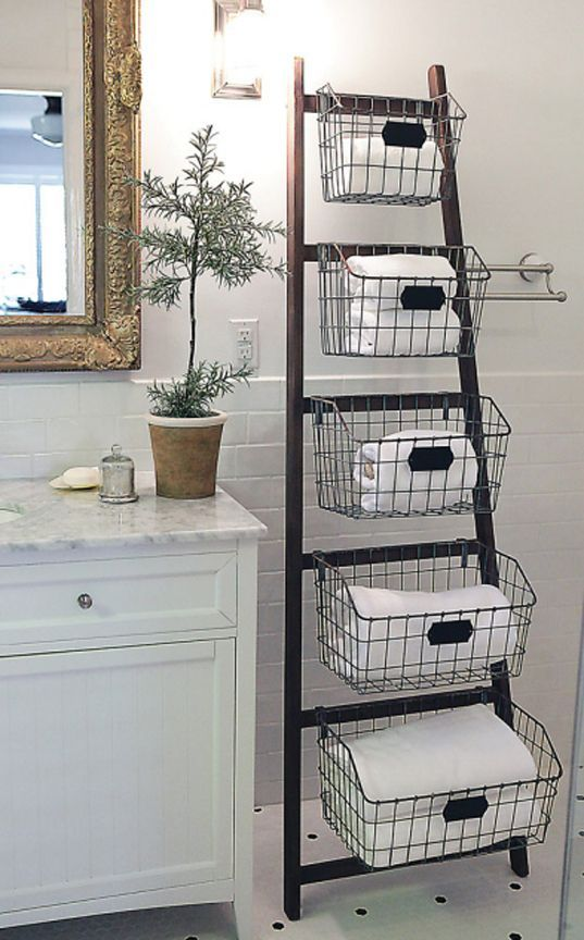 Easy Ways To Store Your Bathroom Towels U2013 Bathroom Towel Storage, Bathroom  Storage Tips, Storage Tips For The Bathroom, Bathroom Organization, ...