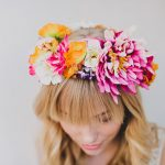 Make Your Own DIY Flower Crown - How to Make Your Own Flower Crown, DIY Flower Crown, Flower Crown DIY Projects, DIY Projects for the Home, Crafts, Fun Crafts for Kids, Kid Stuff, Popular Pin