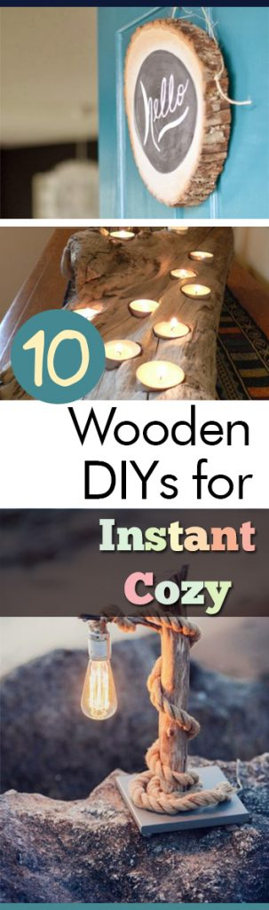 10 Wooden DIYs for Instant Cozy - My List of Lists| Wooden DIY Projects, Cozy Projects, Cozy Home Projects, Wooden DIYs for the Home, Home DIY Projects, DIY Home Projects, Scrap Wood, Scrap Wood Projects, Popular Pin