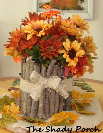 fall centerpieces.