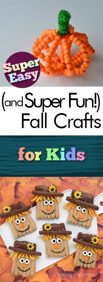Super Easy (and Super Fun!) Fall Crafts for Kids - My List of Lists| Fall Decor Ideas, Fall Home Decor, Fall Decor DIY, DIY Halloween Decorations, DIY Halloween Decor, Easy Fall Crafts for Kids, Crafts for Kids, Fall Crafts, Fun Crafts for Kids, Fast Crafts for Kids, Fast Fall Crafts for Kids, Fall Decor, Fall DIYs, Popular Pin