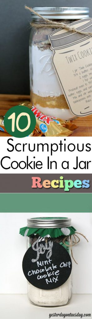 """10 """"Cookie In a Jar"""" Recipes