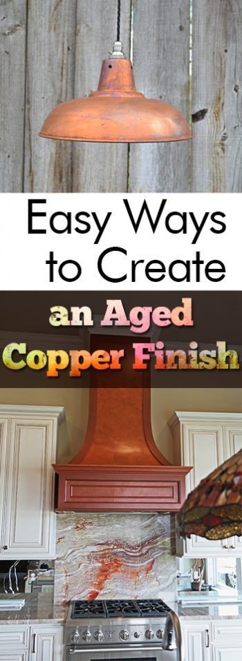 Easy Ways to Create an Aged Copper Finish| Copper Finish, DIY Copper Finish, Home Decor, Painting Projects, Painting Projects for the Home, DIY Painting #PaintingProjects #FurnitureDIYs #Home