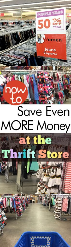 How to Save Even MORE Money at the Thrift Store| Save Money, Thrift Store, Thrift Store Shopping, Shopping Hacks, Life Hacks, Thrift Store Projects, DIY Home, DIY Home Decor, Cheap Home Decor #ThriftStore #ThriftStoreShopping #SaveMoney