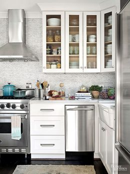 10 Ways to Open Up A Tiny Kitchen| Tiny Kitchen, Kitchen Upgrades, Kitchen, Kitchen Decor, DIY Kitchen, Small Kitchen, Home Improvements, DIY Home Improvements, #Kitchen #DIYHome #DIYKitchen #KitchenImprovements