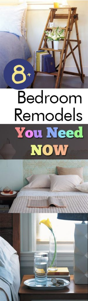 8+ Bedroom Remodels You Need NOW| Bedroom, Bedroom Decor, DIY Bedroom, DIY Home, DIY Home Decor, Bedroom Projects, DIY Bedroom Decor. #Bedroom #BedroomDecor #DIYHome