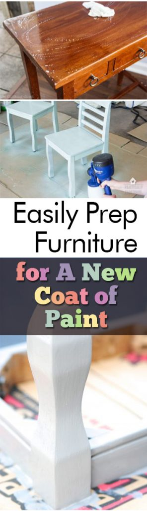 Easily Prep Furniture for A New Coat of Paint| Painting Furniture, DIY Home, DIY Home Decor, Furniture Projects, DIY Home Projects, DIY Home Hacks, Painting Furniture, How to Paint Furniture Easily, Popular #Popular #DIYHome #PaintingFurniture