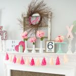 Gorgeous Garlands for Valentines Day| Valentines Day, Valentines Day Garland, DIY Garland, DIY Holiday, Holiday Home Decor, DIY Home, Popular Pin #HolidayHome #DIYHoliday
