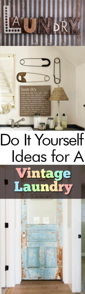 Do It Yourself Ideas for A Vintage Laundry Room| Laundry Room, Vintage Laundry Room, Laundry Room Decor, DIY Home, DIY Room Decor, DIY Laundry Room, Vintage, Vintage Home Decor, Popular Pin #Vintage #DIYHome