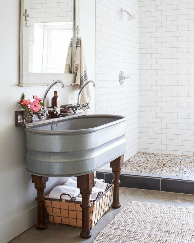 Bathroom Decor Ideas For Your Farmhouse Home| Bathroom Decor, Bathroom Home  Decor, Farmhouse
