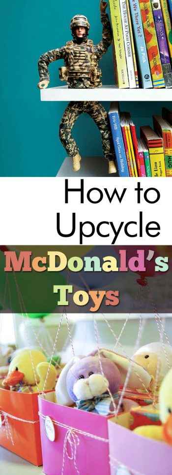 How to Upcycle McDonalds Toys|  Upcycle, Upcycling, Upcycled Crafts, Popular Pin #Upcycle #Upcycling #UpcycledCrafts