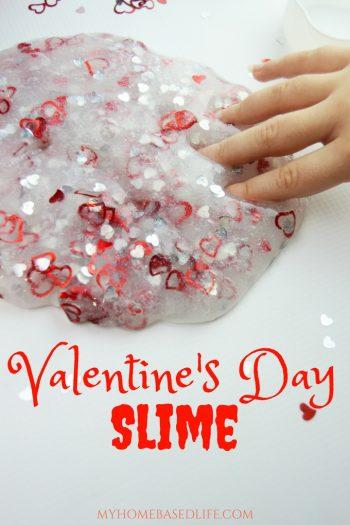 Valentine's Slime Ideas
