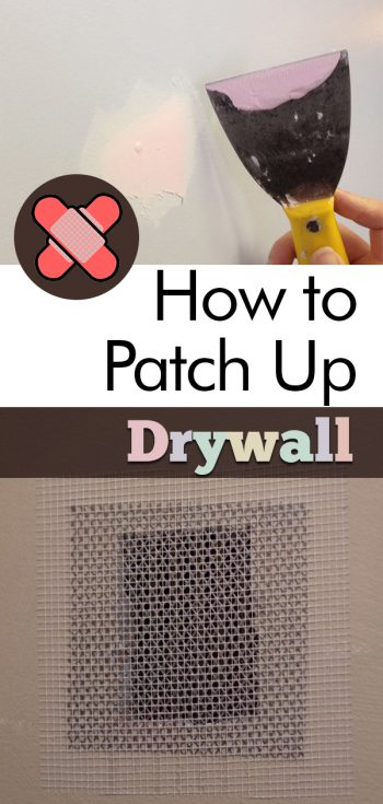 How to Patch Up Drywall, Drywall Repair, Home Renovations, Home Remodeling, Home Repair, Home Repair DIY, Home Repair Hacks