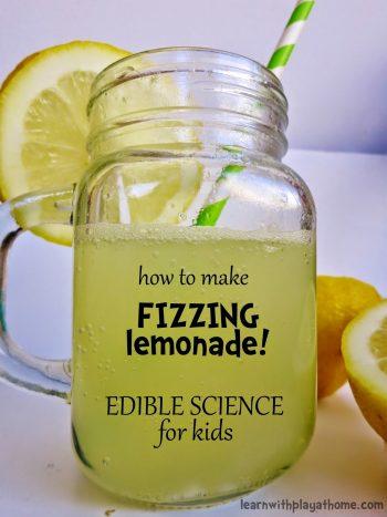 Edible Science Projects - Fizzing Lemonade