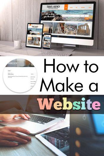 Make a Website | How to Make a Website | Make Your Own Website | DIY Website | Website Builder | How to Create a Website