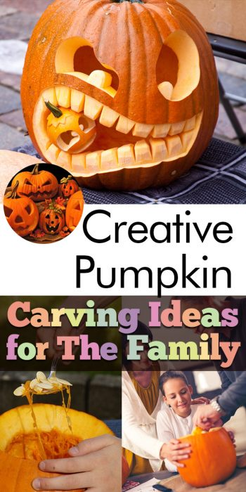Pumpkin Carving Ideas | Pumpkin Carving Ideas for the Whole Family | Family Friendly Pumpkin Carving Ideas | Pumpkin Carving | Halloween