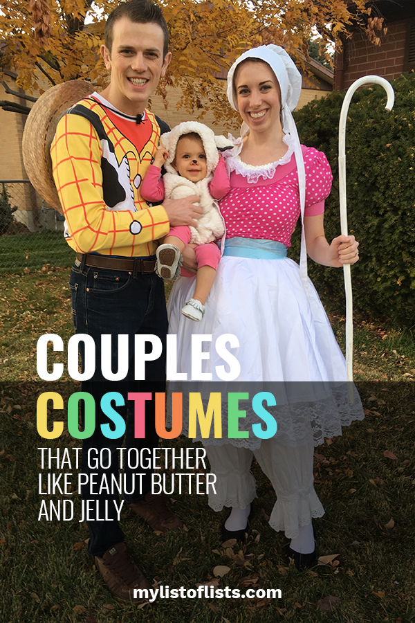 If you're looking for amazing couples costumes that go together like peanut butter and jelly then you've come to the right place