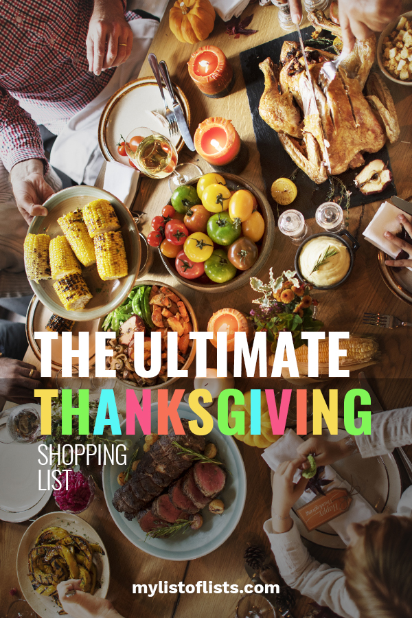 Are you in charge of cooking for Thanksgiving? Feeling a little overwhelmed? No worries, I can help with this ultimate Thanksgiving shopping list. These schedules and printables will keep you organized and feeling less stressed. Take a look so you can spend less time worrying. You'll be thankful you did!