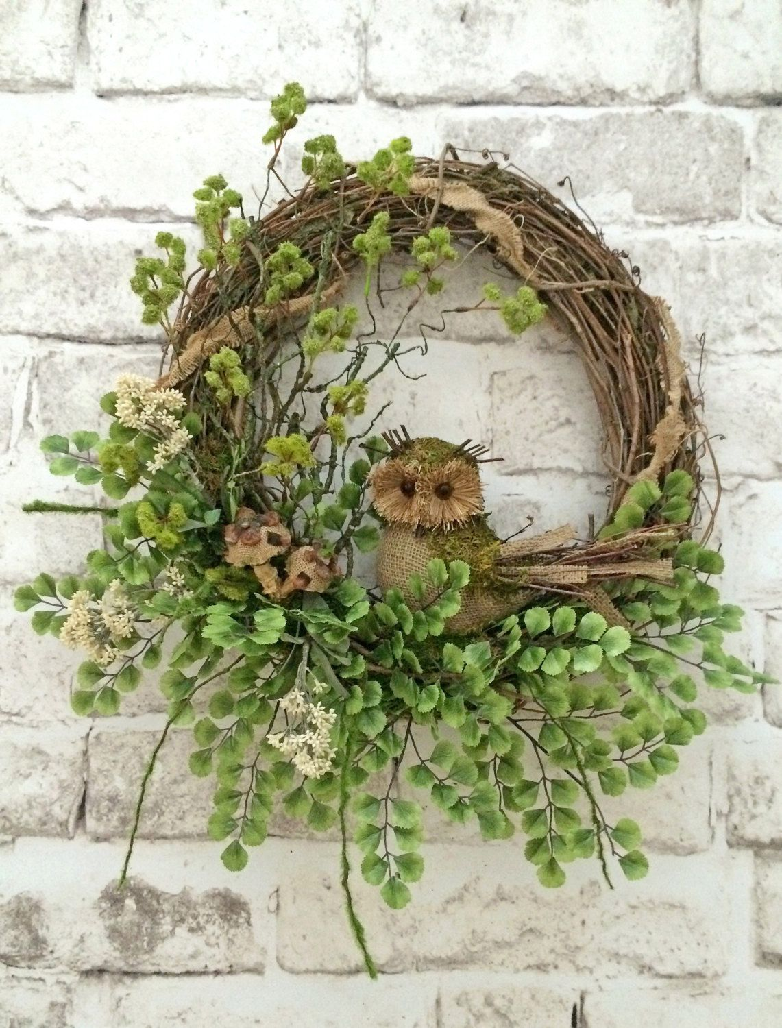 DIY Fall Owl Wreaths | DIY | DIY wreath | fall | owls | wreaths | DIY fall wreaths | owl wreaths | fall wreaths