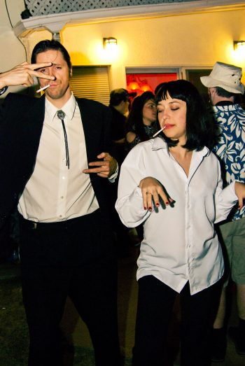 Couples costumes are the best part of Halloween and these Pulp Fiction costumes are amazing