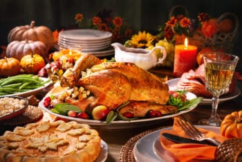 Everything you need for a Thanksgiving Shopping list and Thanksgiving dinner