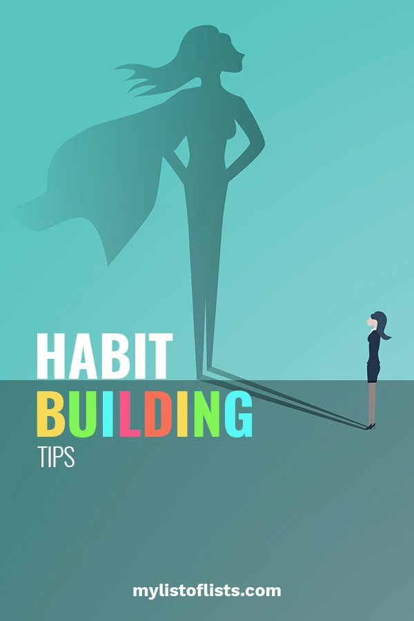 Habits, both good and bad, are hard to break. Most of the time we think of this when it comes to bad habits. But, it works the same for kick butt habits that are good for you. Today we are going to talk about how to build habits that are ones to build confidence. Confidence can serve you well throughout life. So, keep reading so you can start today to build these good habits that you won't want to break. #habits #confidencebuildinghabits #goodhabits
