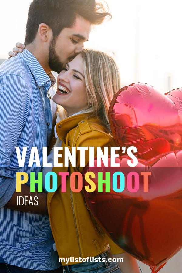 Grab your kids or that special someone for a photo shoot with these photoshoot ideas that will truly capture your heart. Ideas for kids, babies, women, and couples. Love is in the air so don't miss out on this adorable idea. #valentinesphotoshootideas #valentinesdayideas