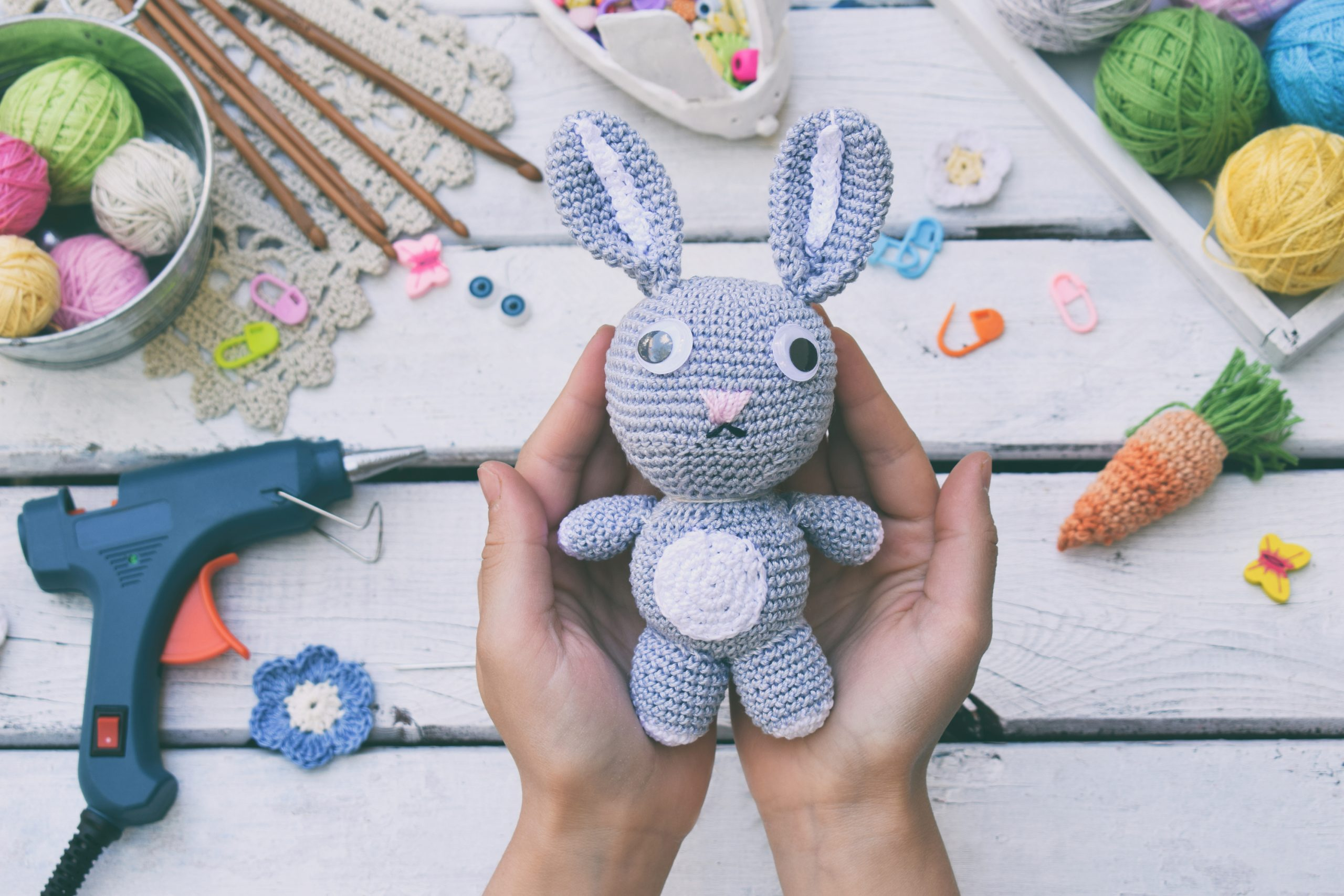 When I stumbled upon an adorable crochet peeps pattern I knew that I absolutely had to share. Keep reading for these super cute (and free!) crochet peeps patterns so you can make your own adorable bunny!