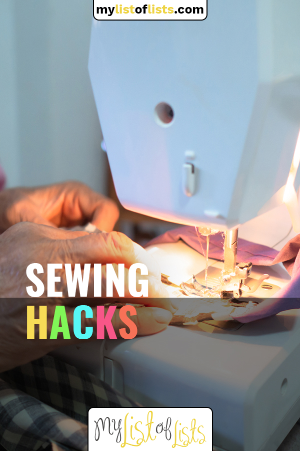 Losing weight is a nice problem because you look and feel better but your favorite jeans don't fit anymore. So, before you decide you need to replace them, check out some ideas for altering the waistband in those favorite jeans. (And more sewing hacks, too!) #mylistoflistsblog #sewinghacks #simplesewinghacks