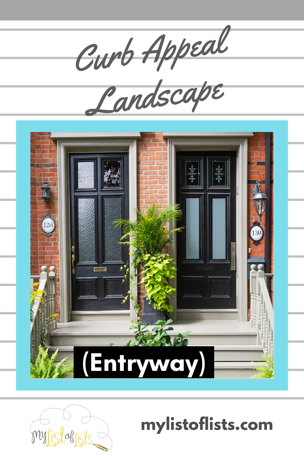 When people come to your house, does your entryway scream curb appeal? If not, we can help. Read this article for curb appeal ideas that really make a difference. #curbappeal #landscaping