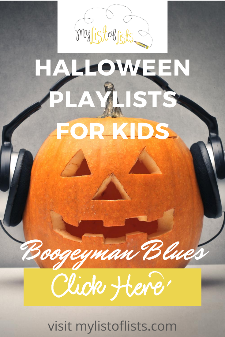 You can have all the decorations once can want, but there is something else that makes your house perfect on Halloween and that is a Halloween playlist. Read the post to learn the most popular Halloweeen playlist for teens and kids. Or, if you need a list of spooky songs, we can do that to. Music makes everything better. #halloweenplaylist #halloweenmusic #mylistoflistsblog