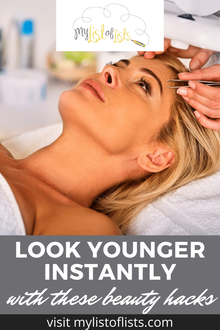 Mylistoflists.com is the archive of tips you need for any situation! Never wonder where to go again with all the life hacks you could possibly need. Check out these secret beauty tips that will make you look younger instantly!