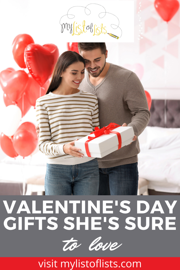 Mylistoflists.com can help you out in any situation with loads of compilations of info and ideas! Find creative tips for you and your loved ones! This Valentine's Day, get her the perfect gift with the help of this easy guide!