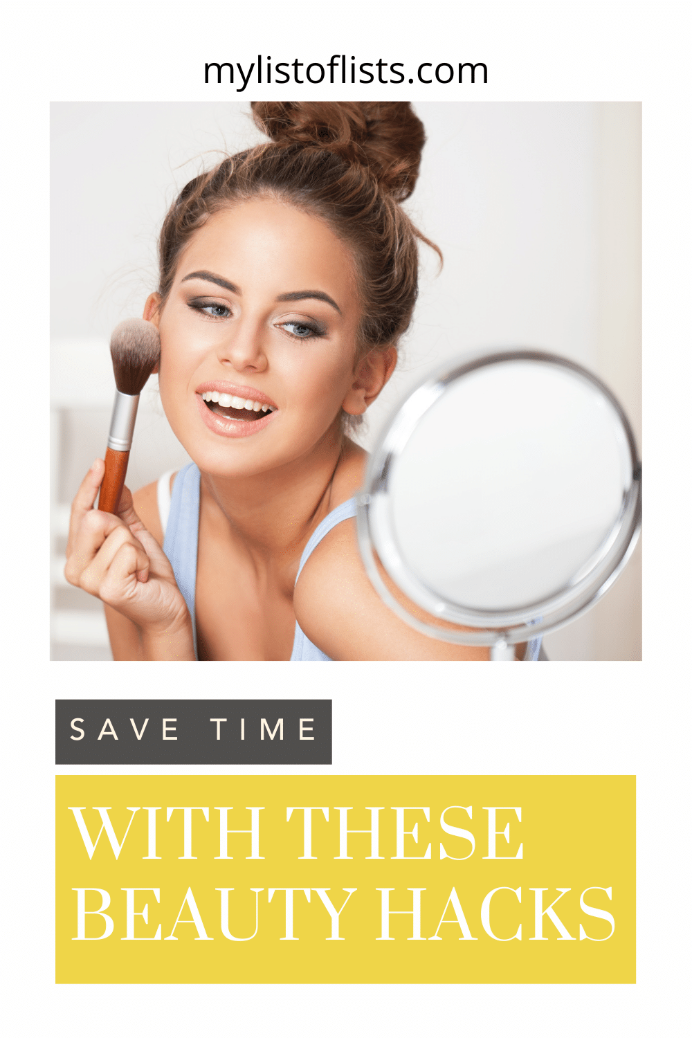 Mylistoflists.com will make you more efficient in all you do. Find tons of simple hacks to save more time. Spend less time on your morning routine with these clever beauty tips you absolutely need to know!
