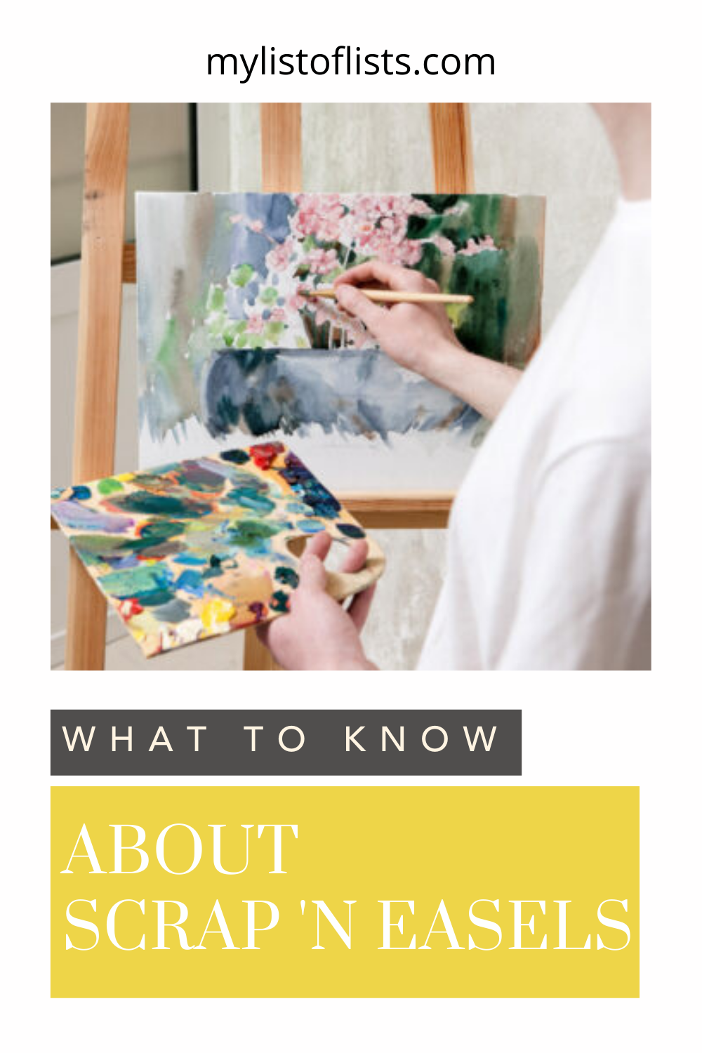 Mylistoflists.com has all you need to know about a whole range of topics! If you've been getting artsy, you need to know about Scrap 'N Easels! Find out what they're all about and why you should have one in your art room!