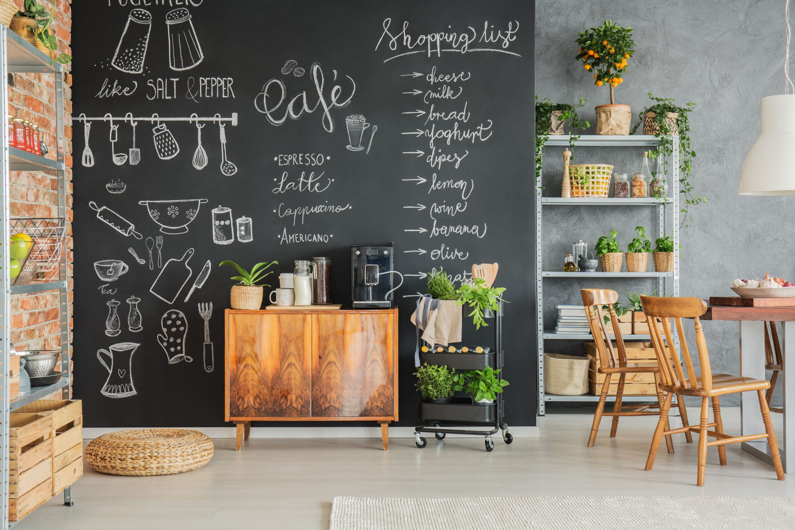 Things to consider before painting a chalkboard