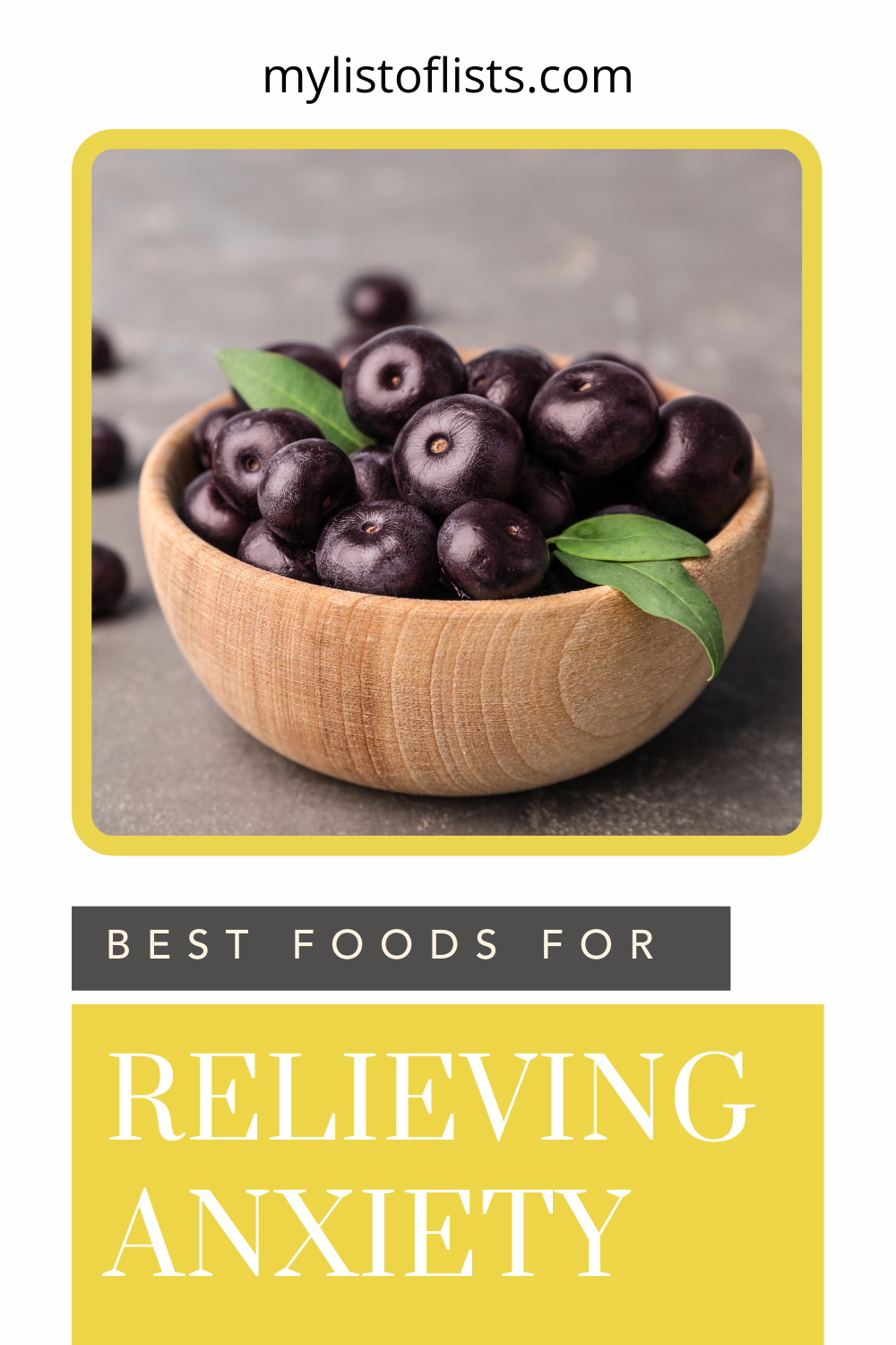 Mylistoflists.com has an eclectic compilation of tips and hacks to make all parts of your life easier. Find loads of ideas for creative and effective organization solutions. Learn how you can relieve your anxieties by simply eating more tasty foods!